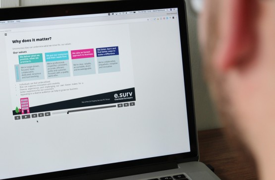 Engaging e-learning content for a leading property surveyor Media